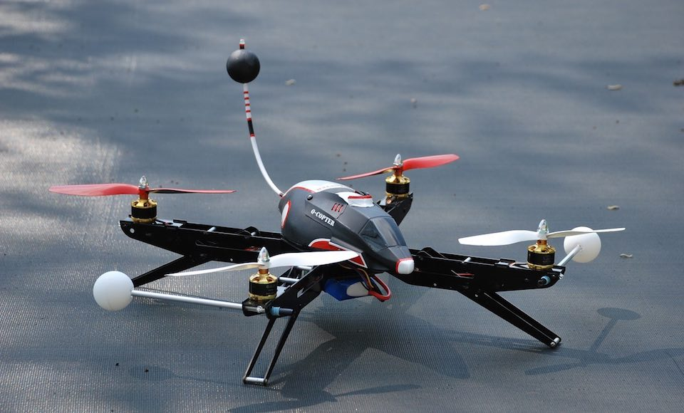 In arrivo i droni poliziotto