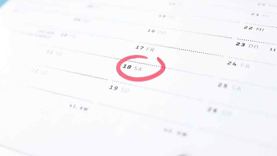 Calendario: i giorni festivi 2016-2017