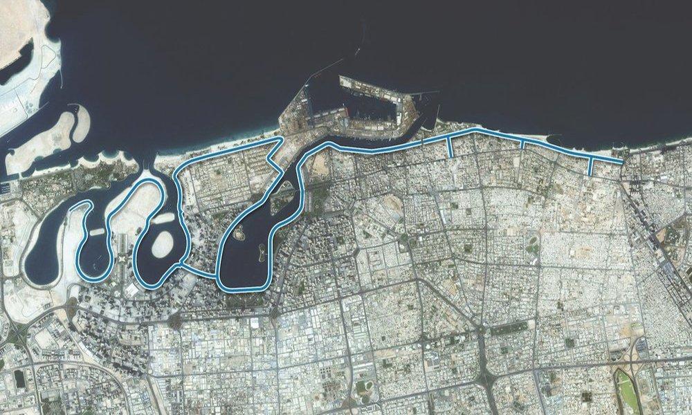 Da Ajman a Dubai in bicicletta
