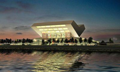 Proseguono i lavori per la nuova biblioteca di Dubai
