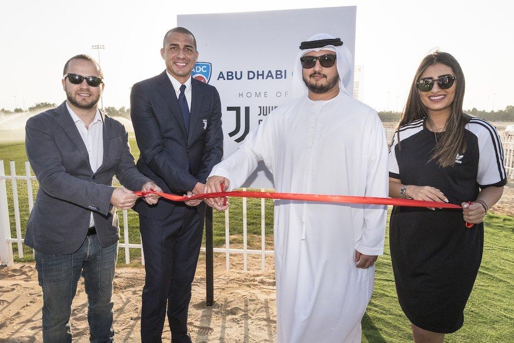 Juventus Legend Opens Academy at Abu Dhabi Cricket