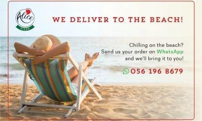Alice Pizza: delivery in spiaggia
