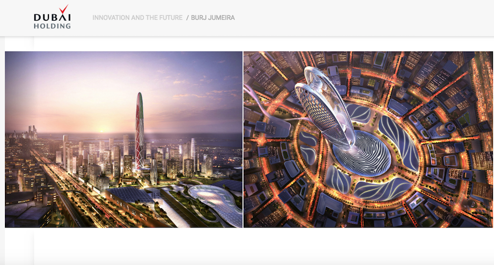Burj Jumeirah: una nuova torre nella skyline di Dubai